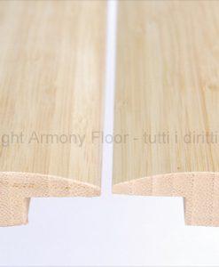Giunto bamboo verticale