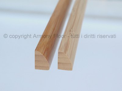 Quarto rotondo in bamboo