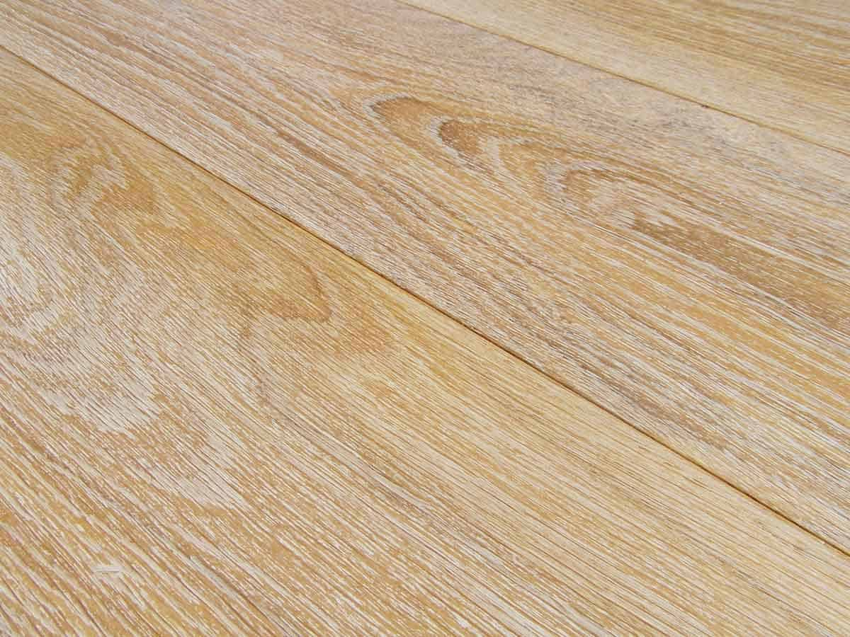 Pickled Antique Oak Flooring, Made in Italy: wide plank