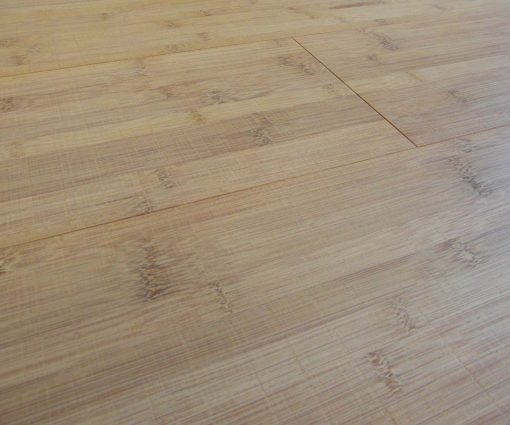 Bamboo Flooring Horizontal Thermo Light- Sawn Marked 01