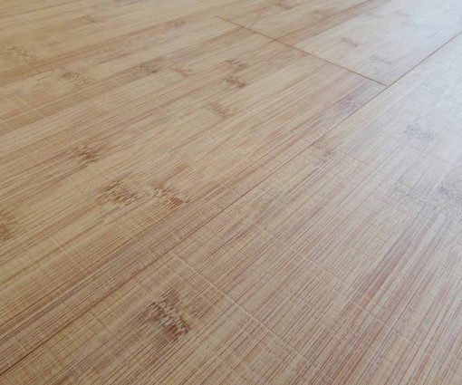 Bamboo Flooring Horizontal Thermo Light- Sawn Marked