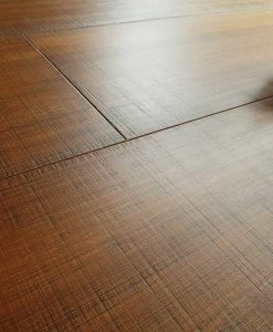 Bamboo Flooring Horizontal Walnut - Sawn Marked 03