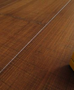 Bamboo Flooring Horizontal Walnut - Sawn Marked