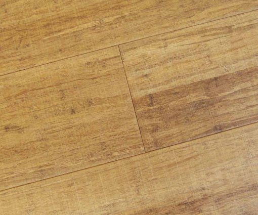 Strand woven bamboo flooring, sawn, thermo light 2