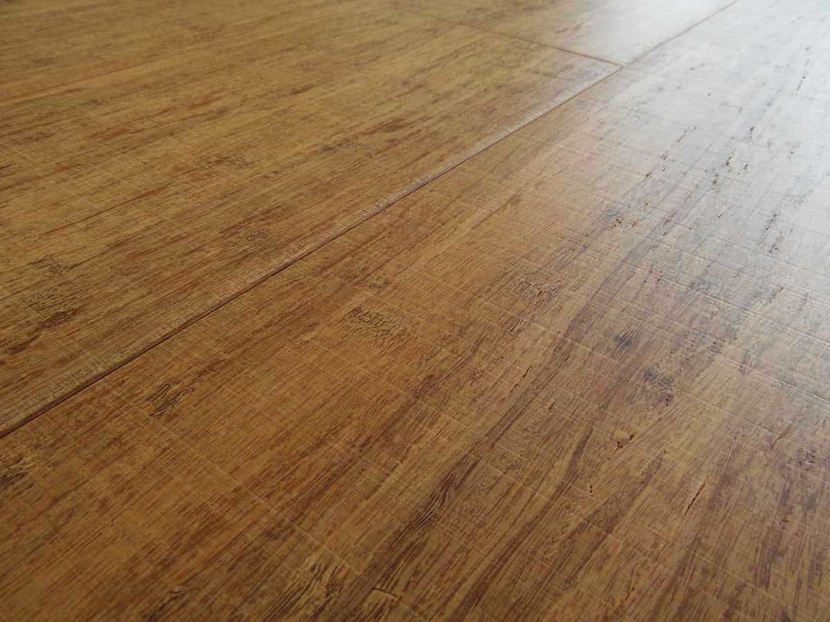 Engineered wood flooring strand woven thermo wide plank for Armony floor