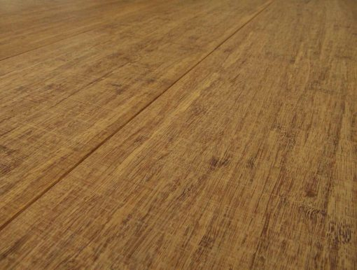 Strand woven bamboo flooring, sawn, thermo 5