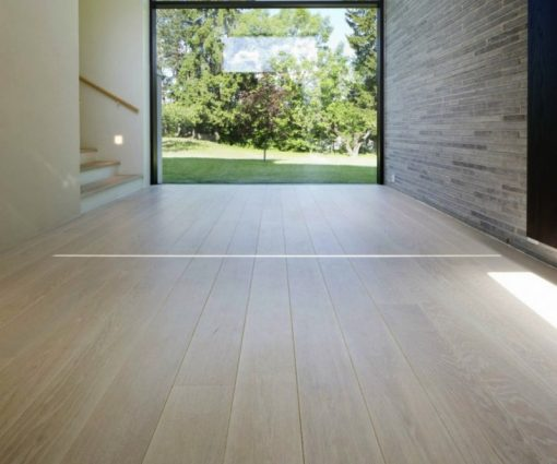 Prime Oak Flooring Bleached Brushed First Class Wide Plank