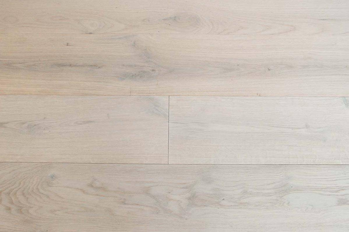 Engineered Bleached Oak Flooring Italian 2 Ply Wide Plank