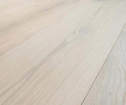 Engineered Bleached Oak Flooring: Italian 2-ply Wide Plank
