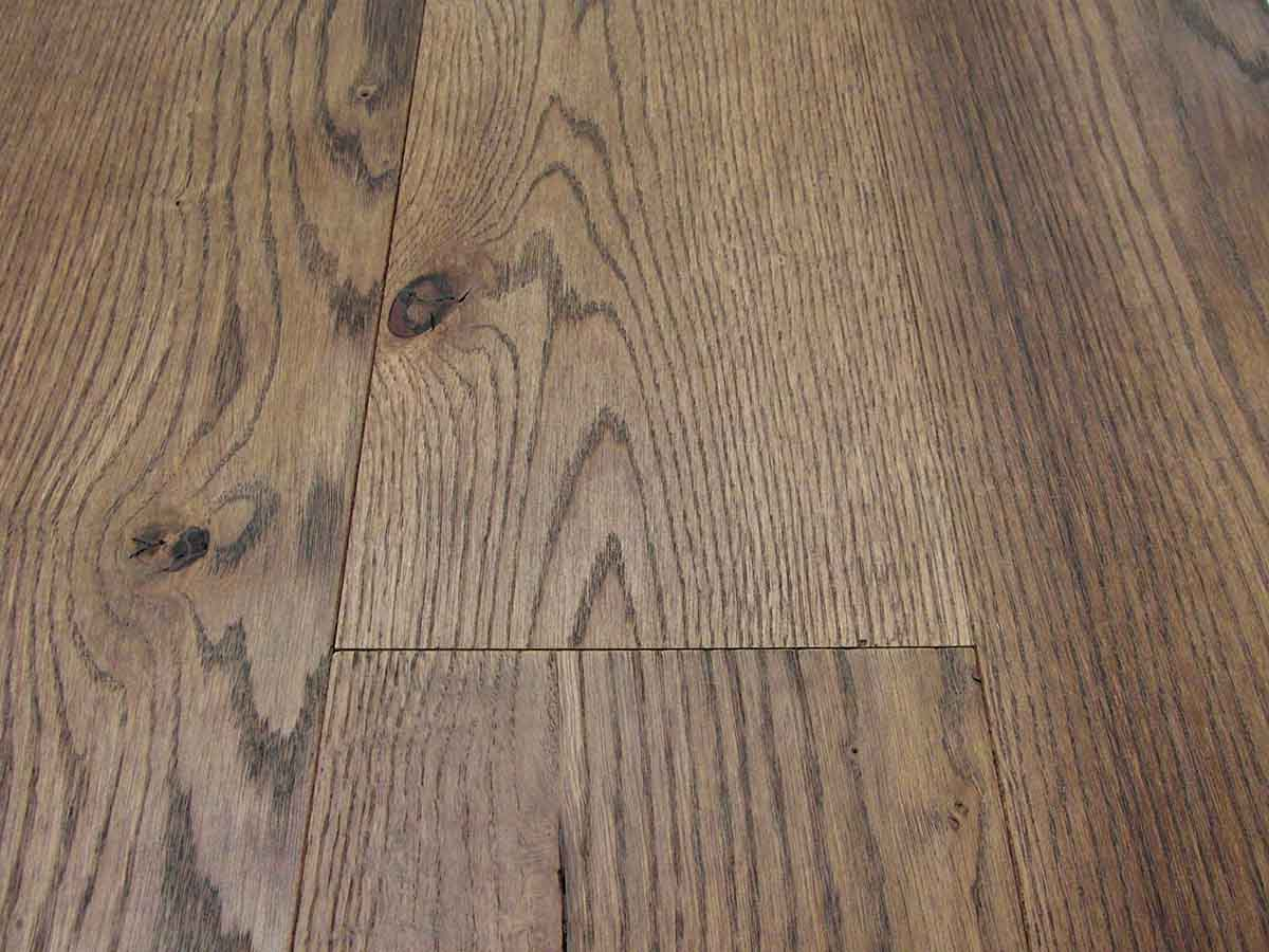 Brown Oak Flooring Wide Plank Sale Factory From Italy