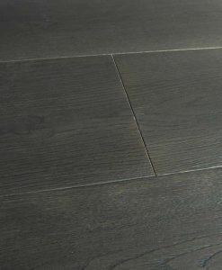 Dark grey oak flooring Made in Italy