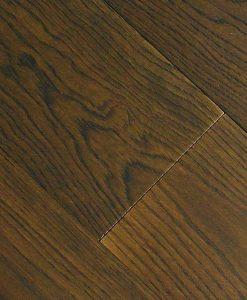Dark walnut oak flooring Made in Italy