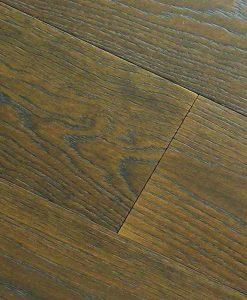 Dark walnut oak flooring Made in Italy 3