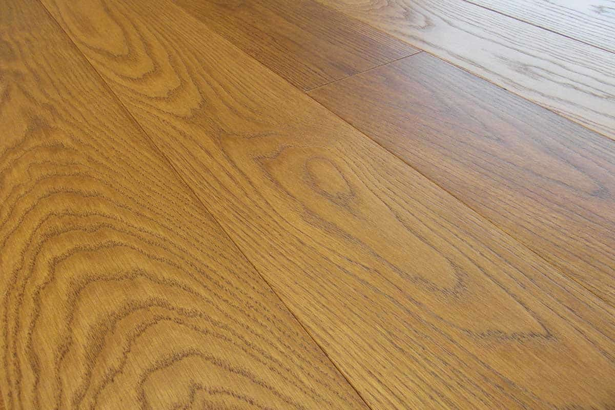 Larch Oak Flooring Made In Italy Bevelled 2 Ply Wide Plank