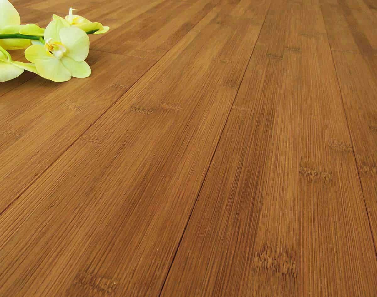 Parquet bamboo prefinito carbonizzato orizzontale listone for Parquet armony floor