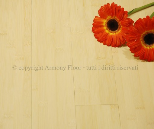 Parquet Bamboo Orizzontale Naturale 12