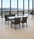 Parquet Bamboo Orizzontale Sbiancato 4