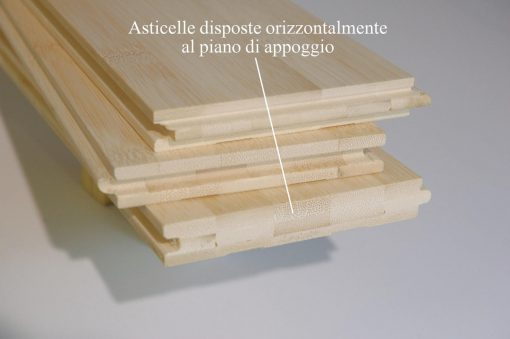 Parquet Bamboo Orizzontale Sbiancato 6