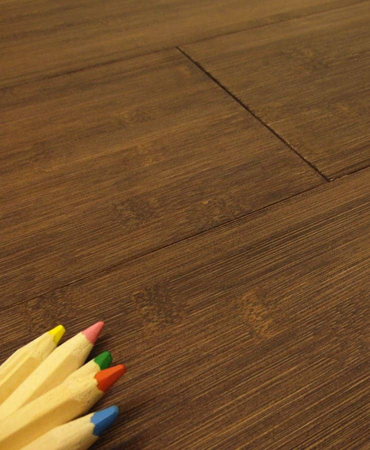Parquet bamboo orizzontale teak made in italy 100 for Parquet armony floor