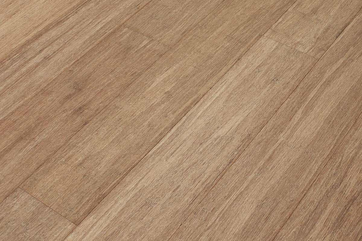 Bamboo Flooring Strand Woven Bleached Carbonized Wide Plank