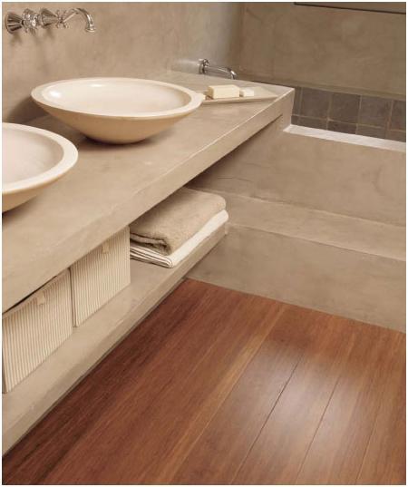 Parquet in bagno pavimenti per bagno in legno - Parquet in bagno e cucina ...