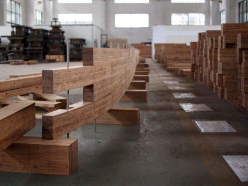 Parquet Bamboo Strand Woven Carbonizzato Maxiplancia 6
