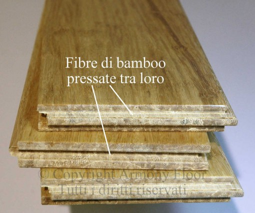 Parquet bamboo strand woven naturale 11
