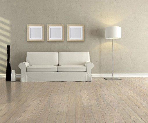 Parquet bamboo strand woven sbiancato 1