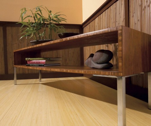 Parquet bamboo verticale naturale 2