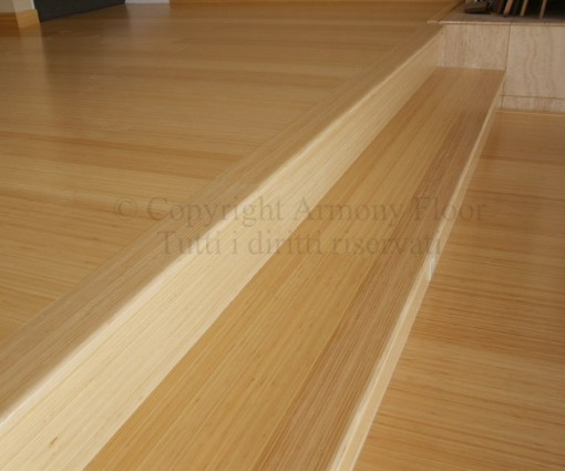 Parquet bamboo verticale naturale 5