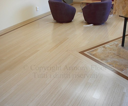 Parquet bamboo verticale naturale 10