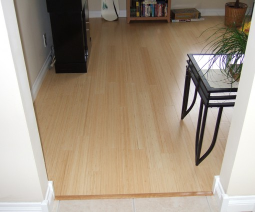Parquet bamboo verticale naturale 11