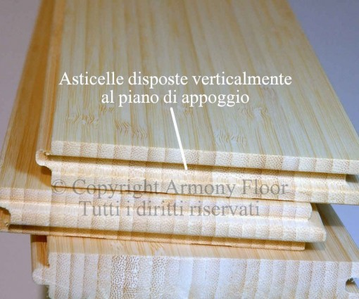 Parquet bamboo verticale naturale 15