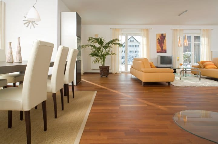 Parquet doussie prefinito 2 strati supporto in betulla for Parquet armony floor