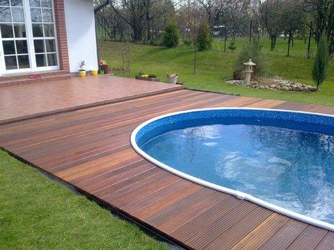 Parquet massaranduba per esterni decking legno esotico for Piastrelle da esterno ikea