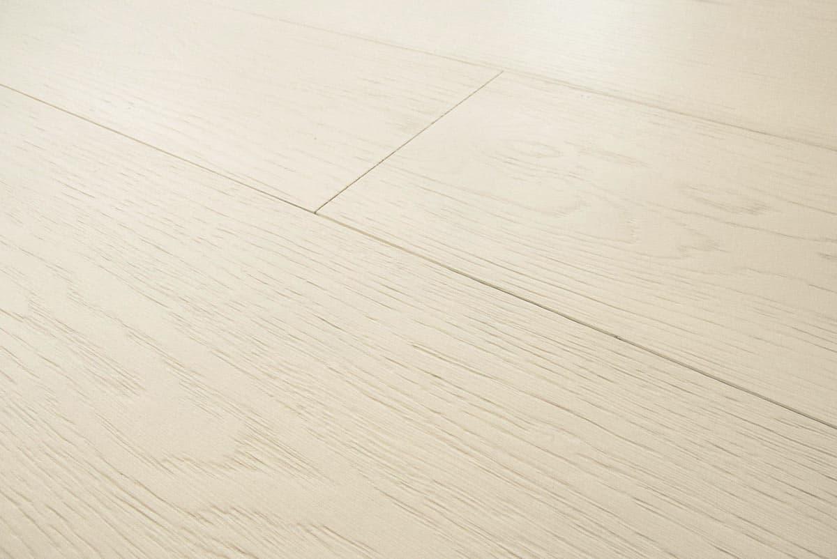 Popolare Parquet Rovere Bianco RAL 9010: legno prefinito Italia NT87