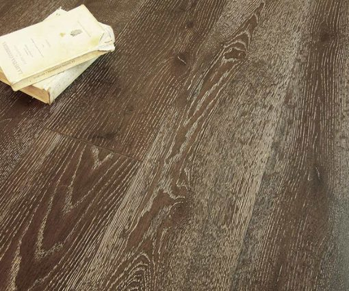 Parquet rovere Decapato Brown Made in Italy 02