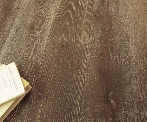 Parquet rovere Decapato Brown Made in Italy 04
