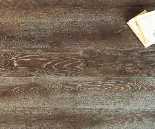 Parquet rovere Decapato Brown Made in Italy 06