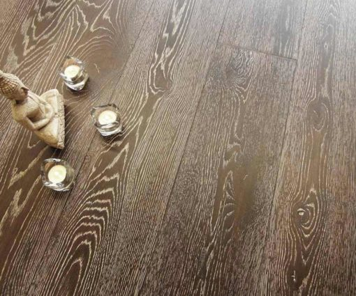 Parquet rovere Decapato Brown Country Made in Italy 02