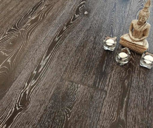 Parquet rovere Decapato Brown Country Made in Italy 05