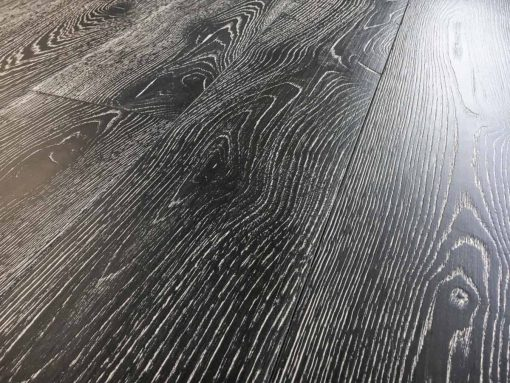 Parquet rovere Decapato Nero Country Made in Italy 04