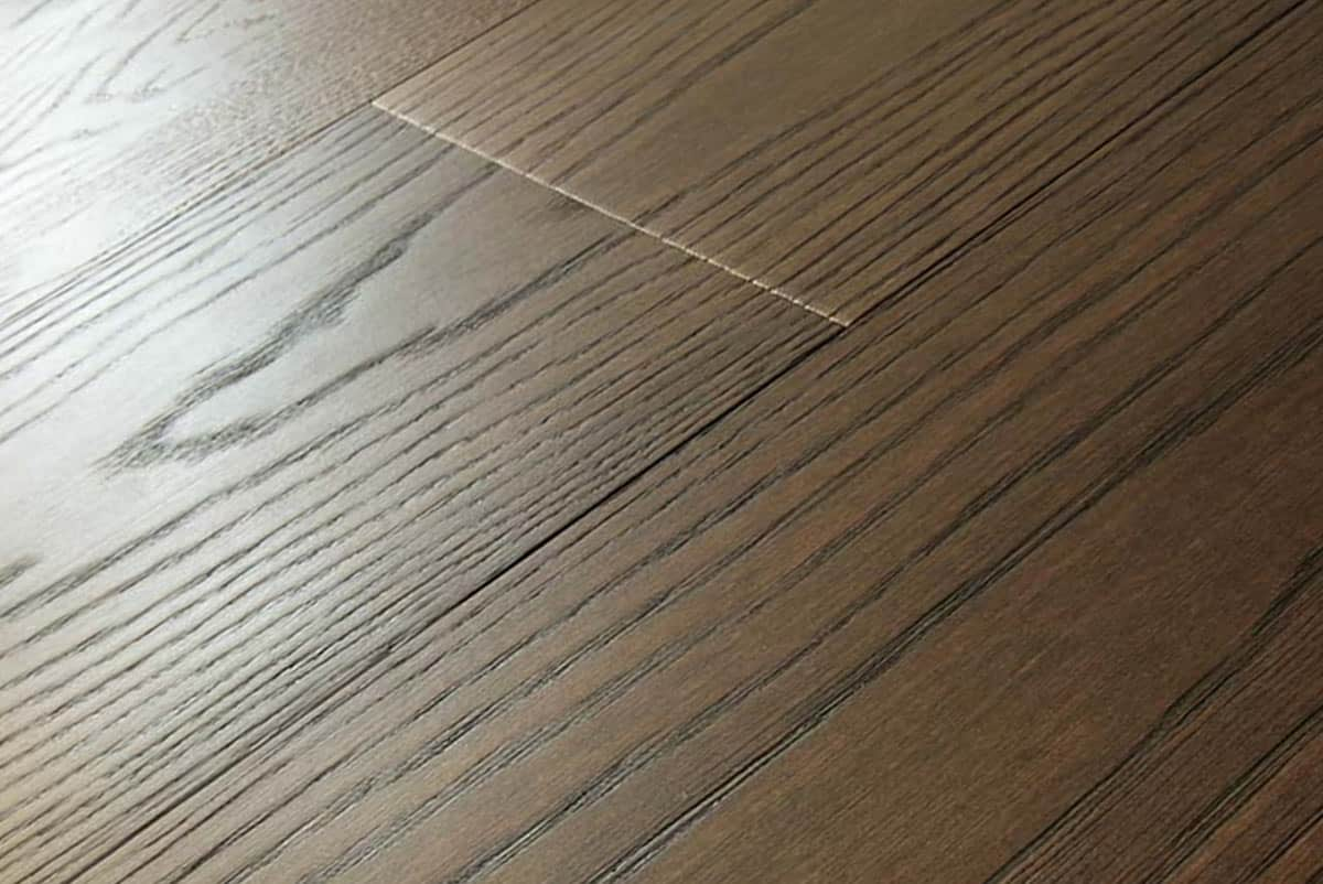 Parquet rovere noce scuro maxiplancia fsc made in italy for Parquet armony floor