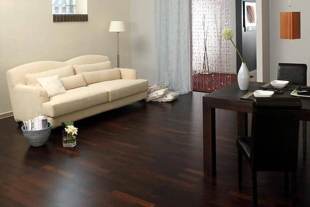 Parquet Weng 232 Prefinito Pavimento Wenge 100 Made In Italy