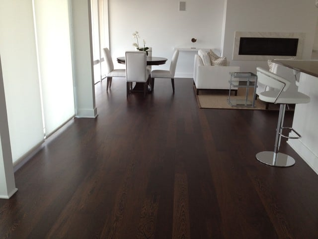 Parquet weng prefinito pavimento wenge 100 made in italy for Armony floor