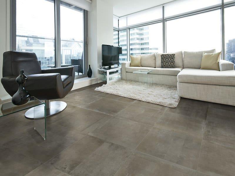 Gres effetto cemento pavimento porcellanato icon for Gres effetto cemento