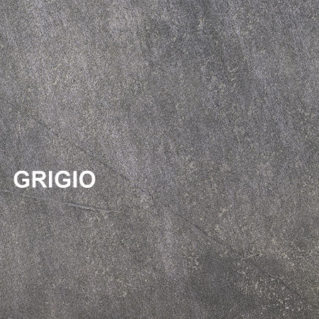 Piastrelle effetto pietra in gres porcellanato meteor - Piastrelle grigio scuro ...
