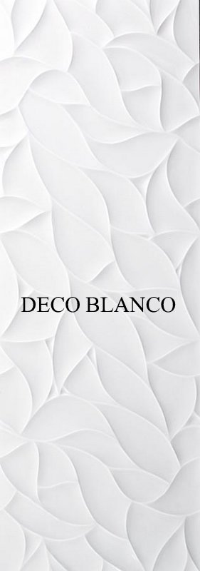 Rivestimento ceramica Oxo | Deco Blanco