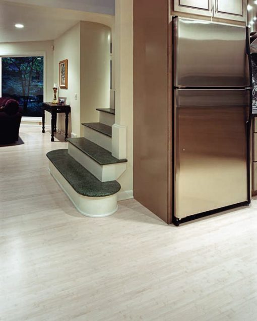 Horizontal bleached bamboo flooring 6