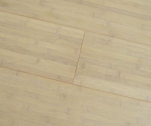 Bamboo flooring Horizontal Bleached Thermo - Sawn Marked 01